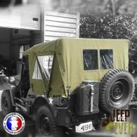 Capote Jeep et côté latéraux arrière